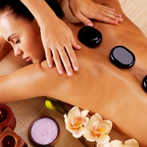 Hot Stone Body Massage 60min