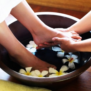 Foot Massage 60min on an armchair