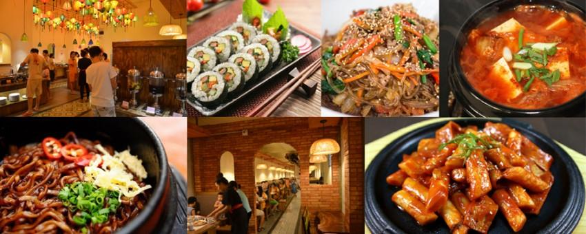 Promotion of Golden Buffet – Vietnamese-Korean delicacies