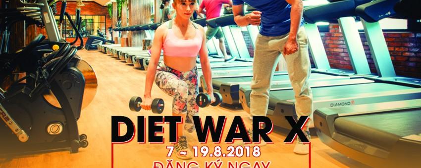 Giảm được 9Kg khi tham gia chương trình giảm cân Diet War tại phòng tập Gym quận 3