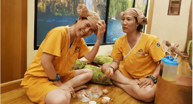 Đi Spa Quận 3 xả Stress chỉ 150k ở Golden Lotus Healing Spa World