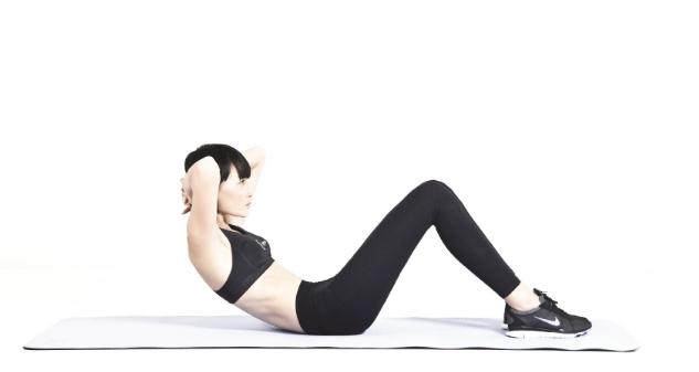 Bài tập gym nữ giảm mỡ bụng phần I