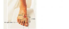 Massage chân đúng cách...