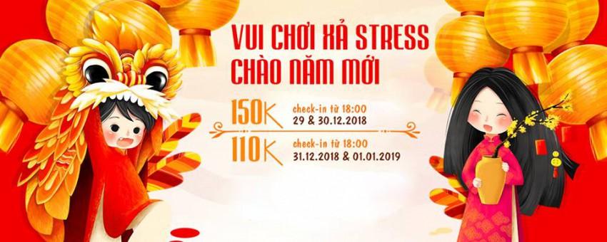Golden Lotus Healing Spa World Chào Năm Mới Vé chỉ 110k