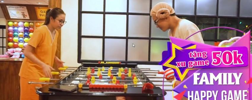 FAMILY GAME – XẢ STRESS THẢ GA – TẶNG 50K CHƠI GAME & HÁT KARAOKE