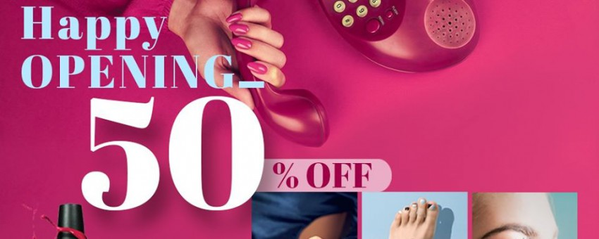 Golden Nail – Sale off to 50% – All Menu