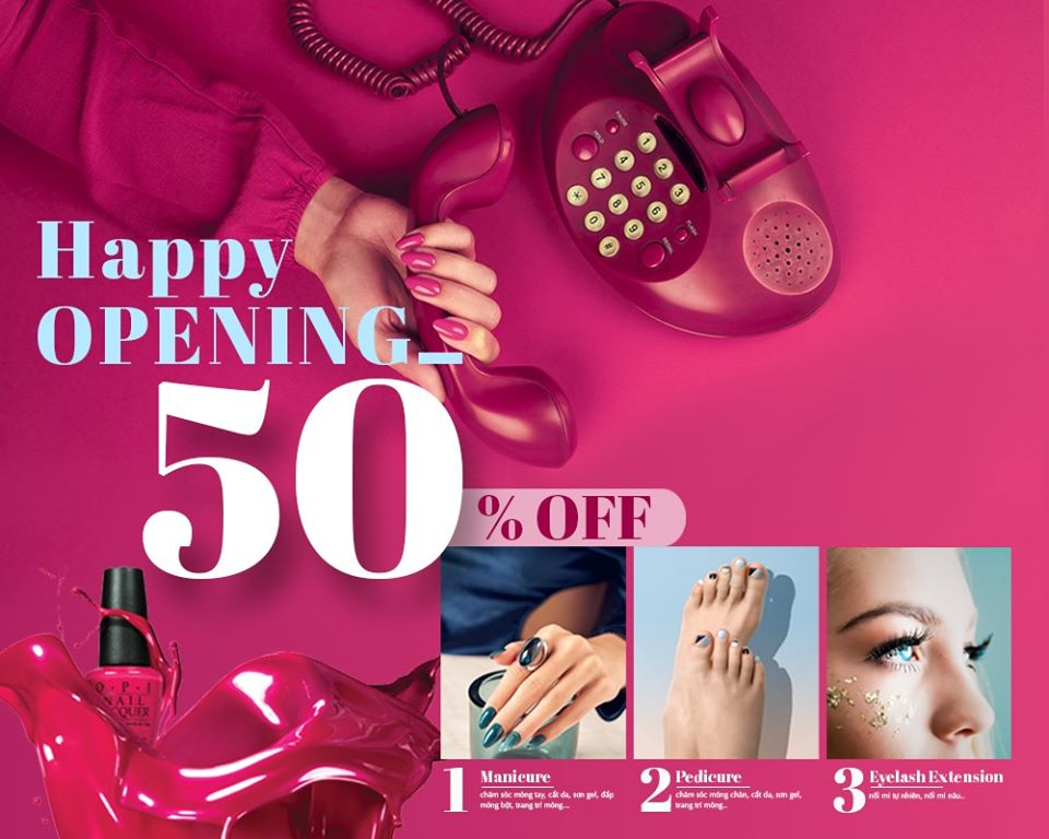 Golden Nail - Sale off to 50% - All Menu