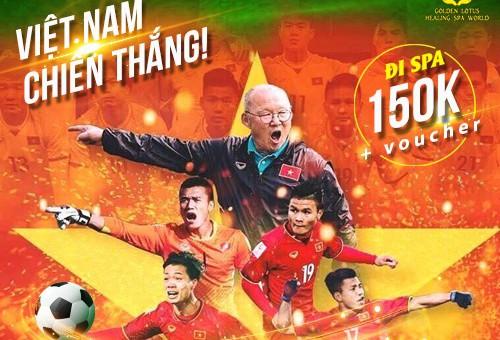 [WORLD CUP 2022] ĐI SPA CHỈ 150K CỔ VŨ TUYỂN VIỆT NAM