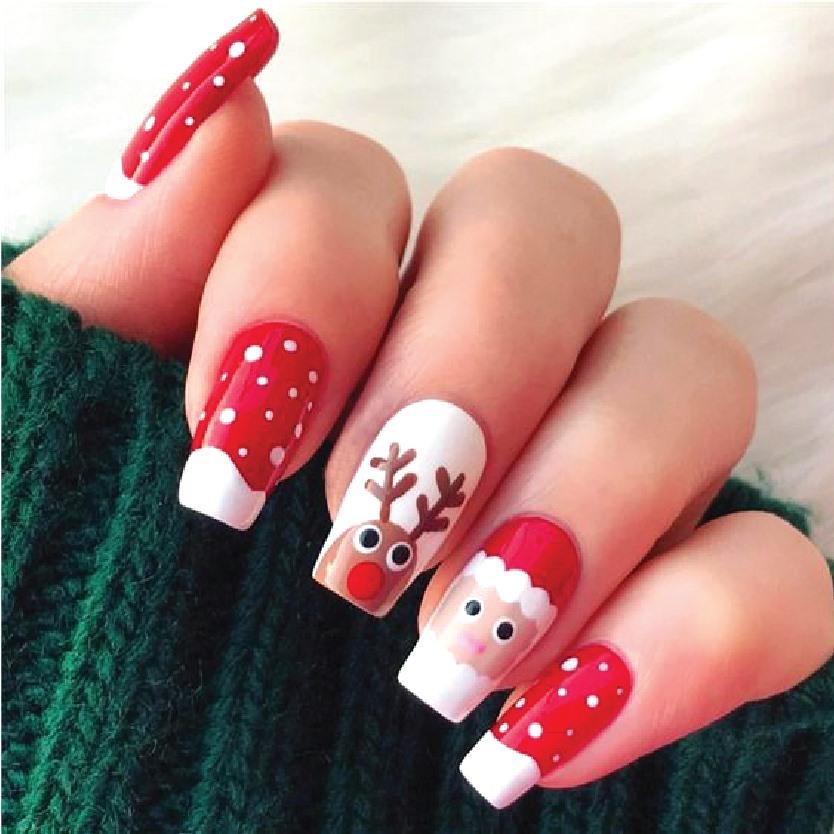 Hot trend các mẫu Nail nhân dịp Noel 2019-001