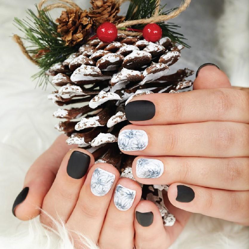 Hot trend các mẫu Nail nhân dịp Noel 2019-002