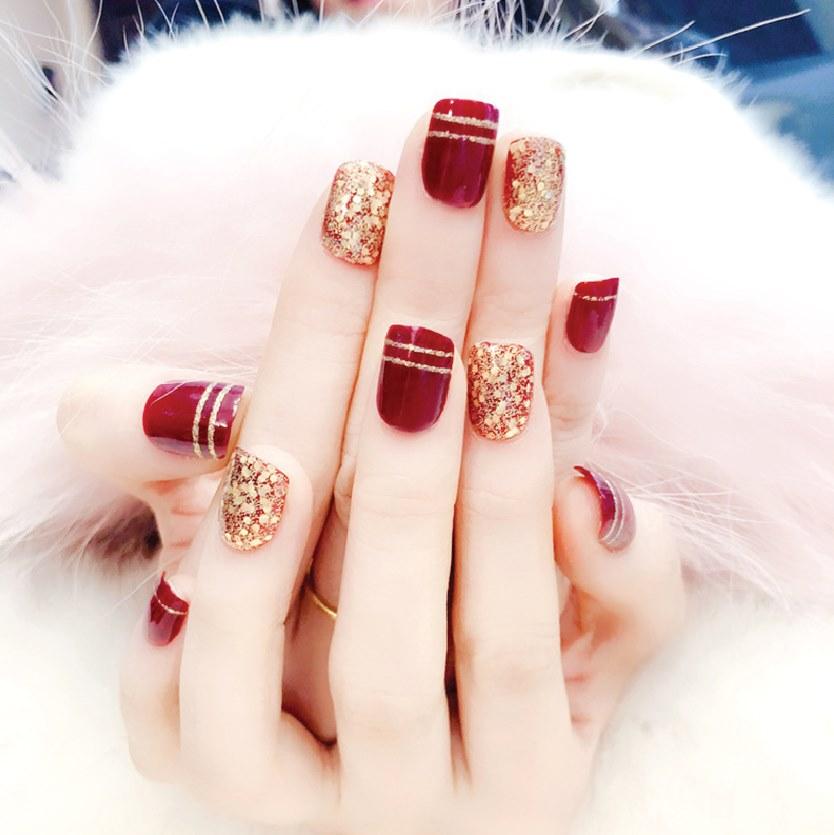 Hot trend các mẫu Nail nhân dịp Noel 2019-006