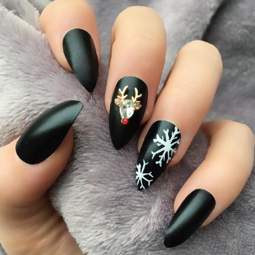 Hot trend các mẫu Nail nhân dịp Noel 2019-008