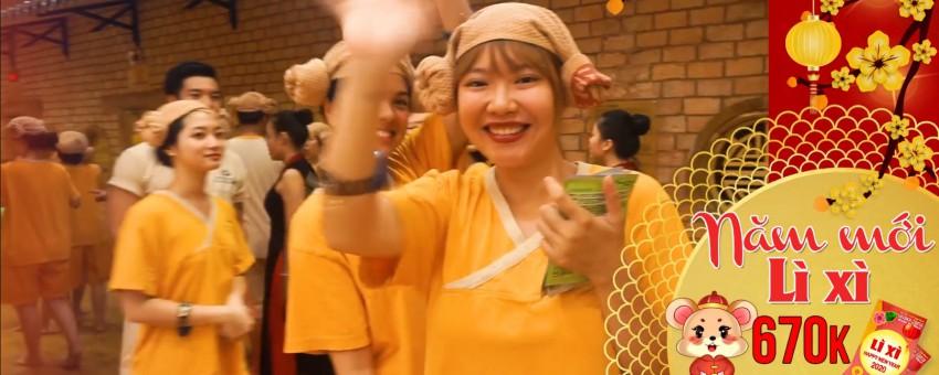 Golden Lotus khuyến Mãi SHOCK tết cổ truyền 2020 Khi check in buổi sáng
