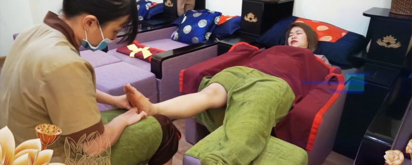 REDUCING STRESS, PREVENTING DISEASES BY FOOT MASSAGE