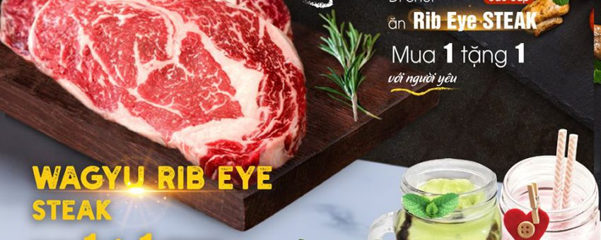 PREMIUM STEAK – DATING TOGETHER AT A COZY PLACE