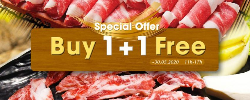 Golden Meat: WAGYU BEEF 1 + 1 SPECIAL OFFER