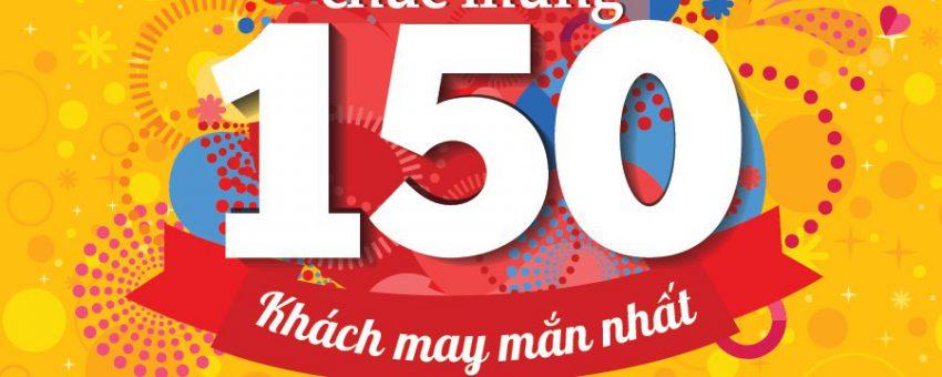 150 người may mắn đã lộ diện 100 Voucher JjimJilBang và 50 phần gà rán HQ