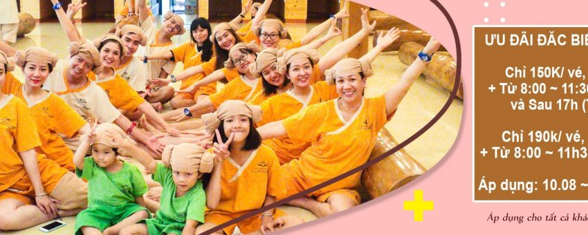Tuần cuối của những ưu đãi lớn nhất tháng 8 tại Spa Jim Jil Bang.