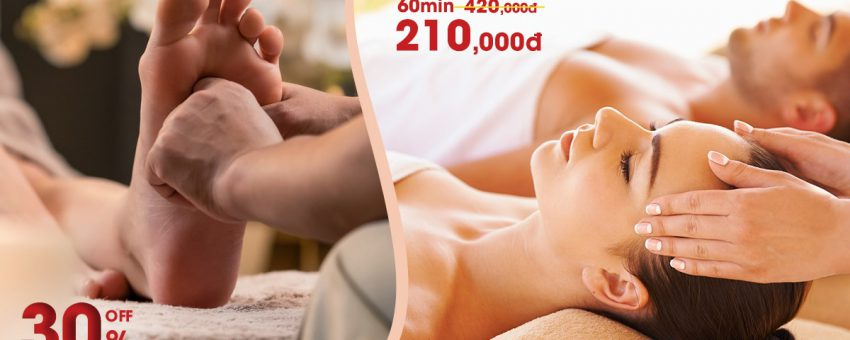 ONLY 210K TO ENJOY THE BEST MASSAGE IN SAIGON